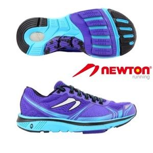 NEWTON Purple and Turquoise Running Tennis Sz 7.5